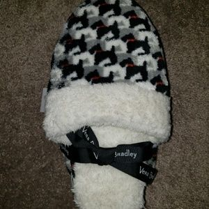 Brand new Vera Bradley fleece slippers
